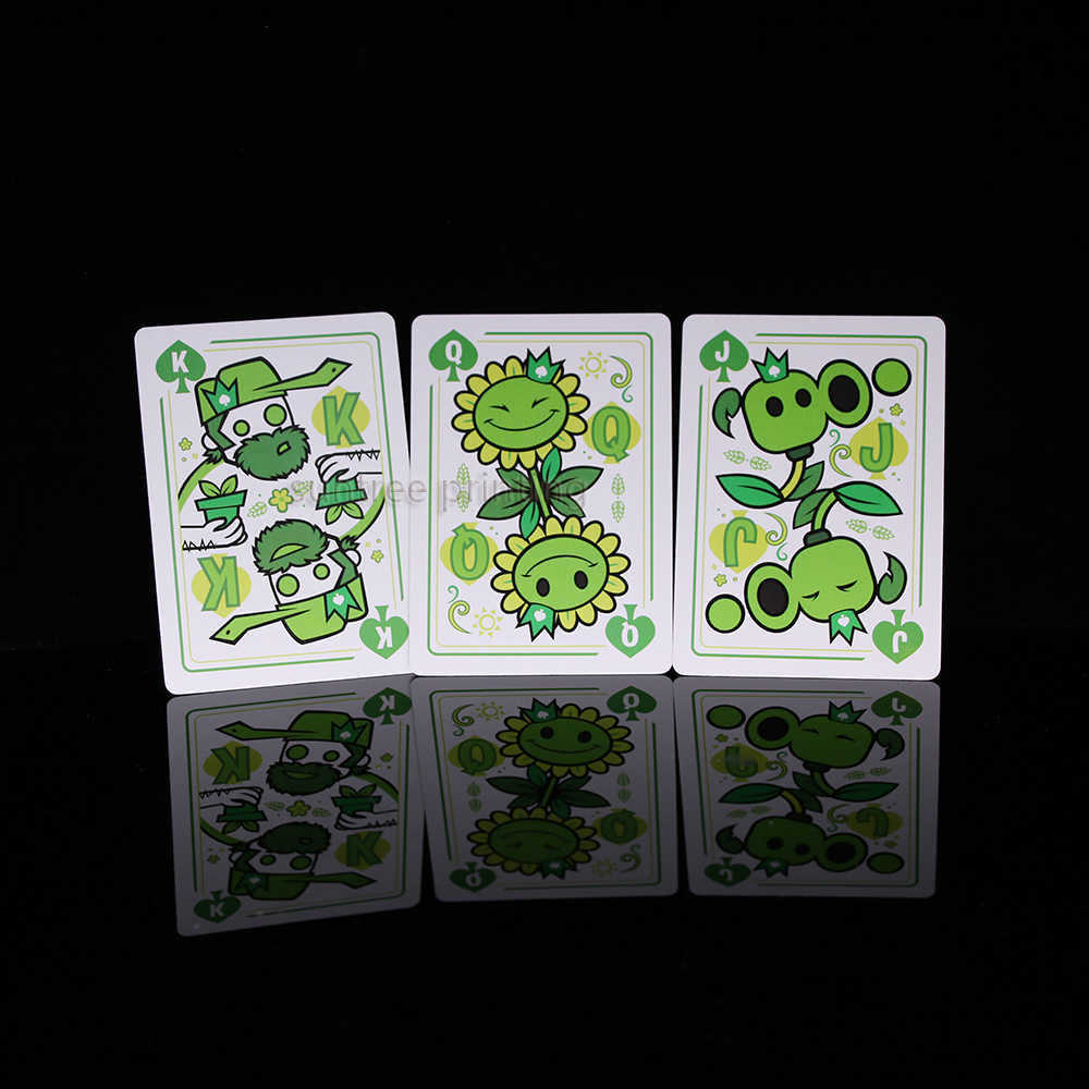 Paper playing Cards  - custom cards face and back  - 210182
