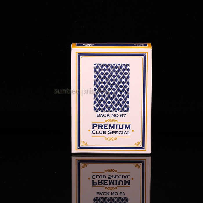 Paper playing Cards  - blue #210190