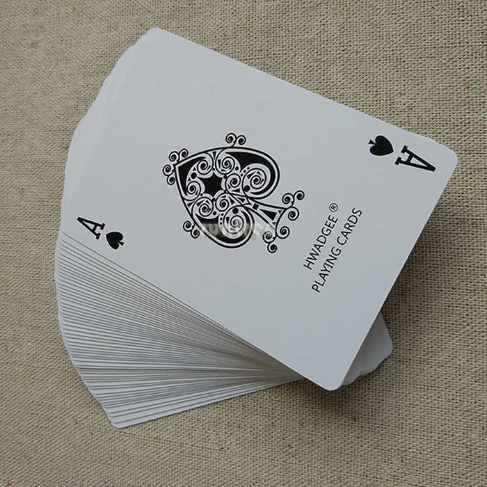 Paper playing Cards blue
