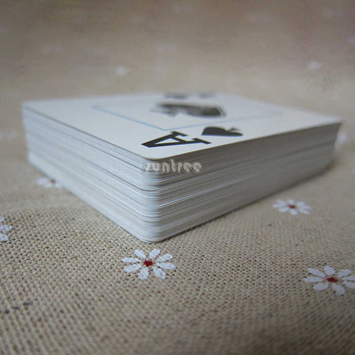 100 plastic playing cards
